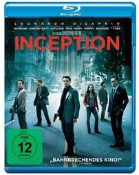 Inception Blu-ray unter 10 €