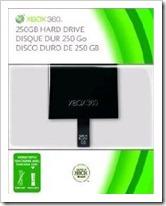 Xbox 360 slim 250 GB Festplatte