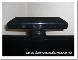 Halterungen für Microsoft Kinect Sensor - Test