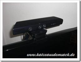 Kinect Sensor am Fernseher befestigen
