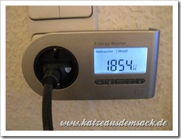 Energiekosten messen Watt/Euro/CO2 mit dem ELV Engergy Master