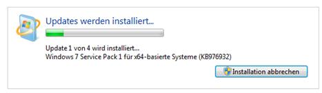 Windows 7 Service Pack 1 installieren - Windows Updates oder SP1 downloaden