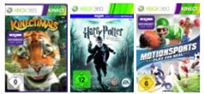 3 Kinect Games zum Preis von 2 - amazon.de