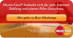 Kostenlose Gutscheine für Video Buster über MasterCard