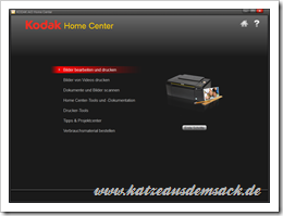 Kodak Home Center Software im Test