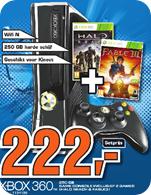 Xbox 360 Slim 250 GB Bundle mit Halo Reach + Fable III