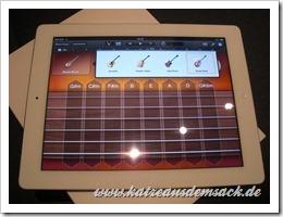 GarageBand auf dem iPad 2