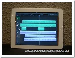 GarageBand - Musikstudio für die Tasche
