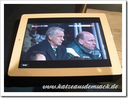 Sky Go - iPad 2 App - Bundesliga in HD