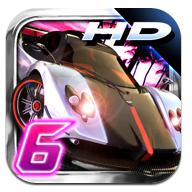 Apple App Store: Asphalt 6 HD - Adrenaline reduziert