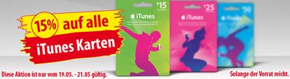 iTunes Karten für Apps, Musik, Filme, Bücher