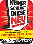 Bochum Ruhrpark - Neueröffnung Media Markt - Schnaeppchen