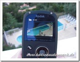 Kodak Playsport Zx5 - Vorderseite immer Schwarz