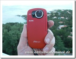 Testbericht Kodak Playsport Zx5 - wasserdichter Pocket-Camcorder