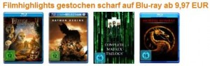 Blu-ray Filme ab 9,97 € - reduziert