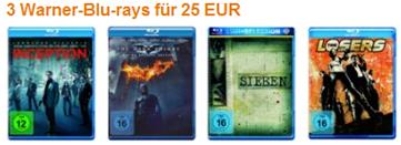 Diverse Blu-ray Aktionen und Angebote bei amazon.de