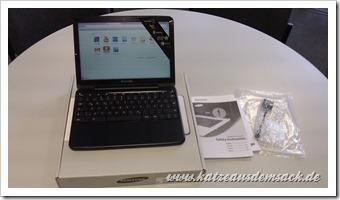 Chrome OS - Samsung XE500C21-A03DE