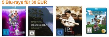 Aktuelle Bluray Angebote bei amazon.de