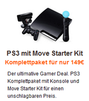 Sony Playstation 3 (320 GB) mit Move für 149 €?