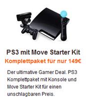 Sony Playstation 3 (320 GB) mit Move für 149 €?