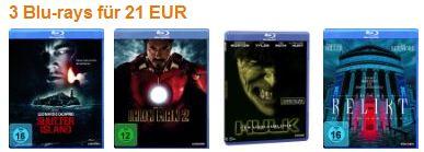 Blurays günstiger bei amazon.de