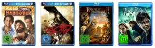 amazon - 4 Blu-rays für 30 €