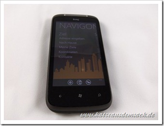 Navigon - Windows Phone 7 - HTC Mozart 7