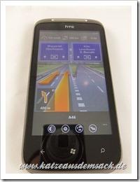 Navigation für Windows Phone 7 Smartphone WP7