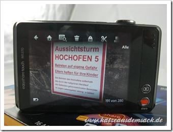 Kodak EasyShare Touch M5370  Erfahrungsbericht