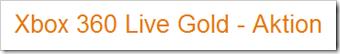 Xbox Live Gold Mitgliedschaft 12 Monate billiger