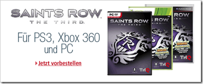 Saints Row - The Third - günstiger vorbestellen
