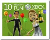 Kostenloser Download für den Avatar - 10 Jahre Xbox
