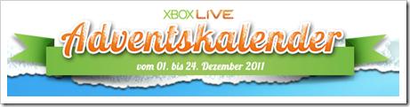 Adventskalender 2011 - Xbox 360 - Gewinne, Spiele, Microsoft Points