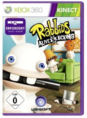 Rabbids - Alive an Kicking Xbox 360 Kinect