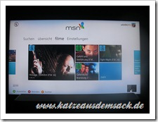 MSN Video als App für Xbox 360