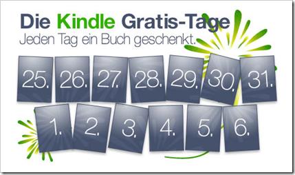 Kostenlose eBooks für viele Systeme - Kindle auf dem iPad, iPhone, PC, Android