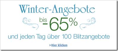 Winter-Angebote - Blitzangebote - Cyber Monday unter neuem Namen
