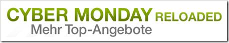 Cyber Monday erneut bei amazon.de - Cyber Monday Reloaded