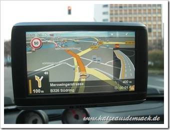 Navigon 42 Plus - Navigation - Kartendarstellung