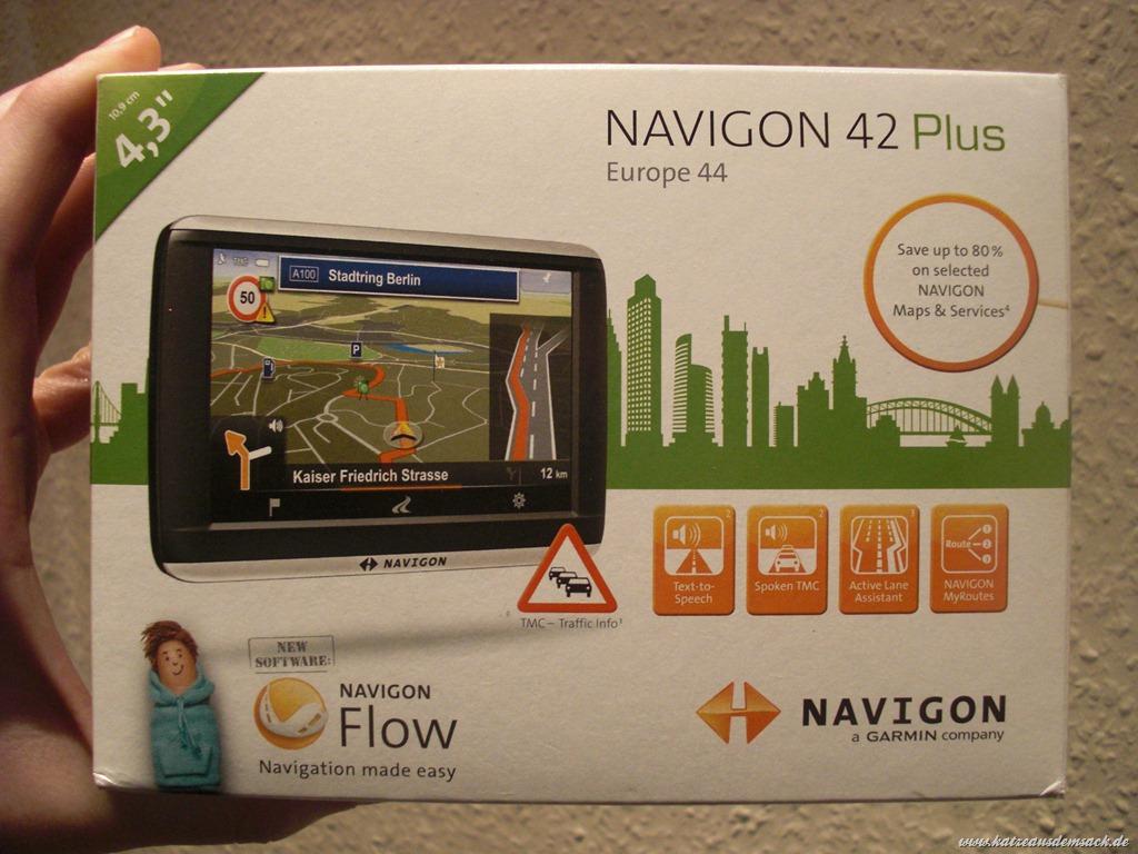 Navi Test: Navigon 42 Plus