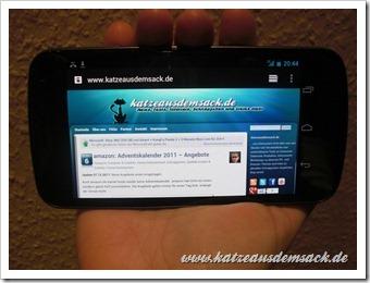 Samsung Galaxy Nexus - Erster Eindruck - Test