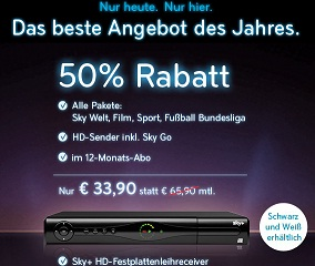 Sky Gutschein /Voucher / Code - AMAZON2012