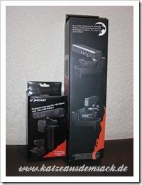 Halterung für Kinect Xbox 360 und PS3/PlayStation 3 Move Eye Kamera