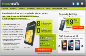 Website freenetmobile