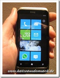 HTC Radar - Windows Phone 7.5 Smartphone