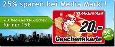 Media Markt Gutscheine - billiger / günstiger