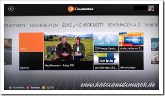 Xbox 360 ZDF-Mediathek - Video App