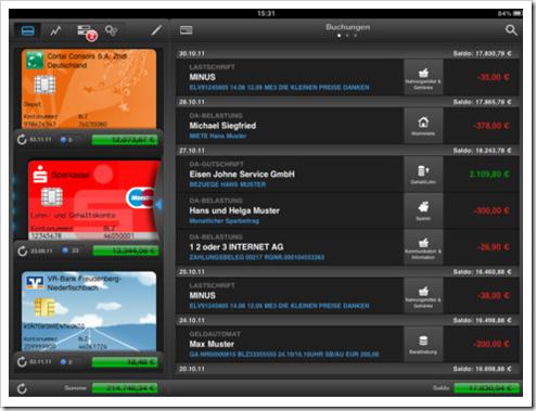 finanzblick HD - Alternative zu iOutBank