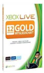 Xbox Live Mitgliedschaft - günstigstes Angebot