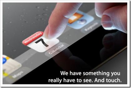 Apple iPad 3 - Keynote 07. März - endlich Fakten zum neuen iPad